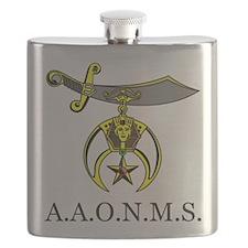 A,A.O.N.M.S. Flask