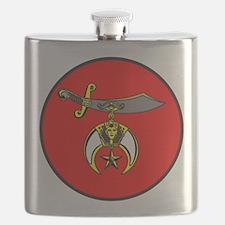 Shrine Semitar Flask