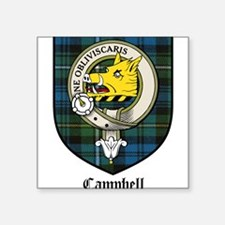 "CampbellCBT.jpg Square Sticker 3"" x 3"""