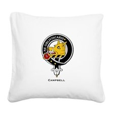 Campbell.jpg Square Canvas Pillow