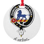 Carlyle.jpg Round Ornament