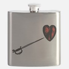 Sword pointing to a naked heart.png Flask