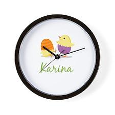 Easter Chick Karina Wall Clock