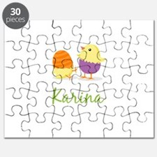 Easter Chick Karina Puzzle
