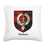 ChisholmCBT.jpg Square Canvas Pillow