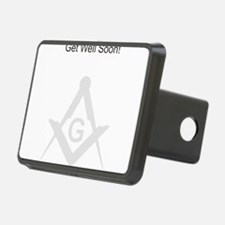 Masonic Greeting Card Hitch Cover