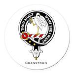 Cranstoun.jpg Round Car Magnet