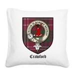 CrawfordCBT.jpg Square Canvas Pillow