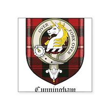 "CunninghamCBT.jpg Square Sticker 3"" x 3"""