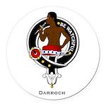 Darroch.jpg Round Car Magnet