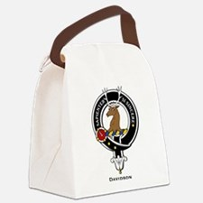 Davidson.jpg Canvas Lunch Bag