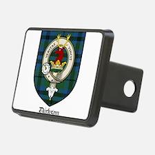 Dickson Clan Crest Tartan Hitch Cover