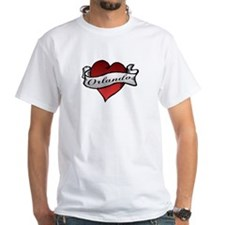 Orlando Tattoo Heart Shirt