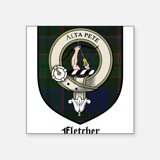 "FletcherCBT.jpg Square Sticker 3"" x 3"""
