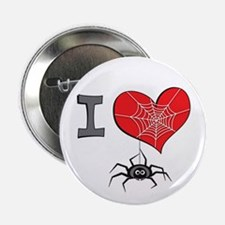 I heart spiders Button