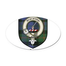 GunnCBT.jpg Oval Car Magnet