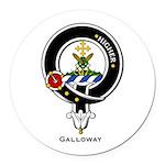 Galloway.jpg Round Car Magnet