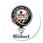 Gilbert.jpg Round Car Magnet