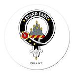 Grant.jpg Round Car Magnet