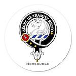 Horsburgh.jpg Round Car Magnet