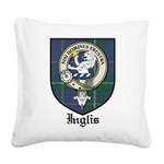 InglisCBT.jpg Square Canvas Pillow