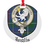 InglisCBT.jpg Round Ornament