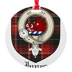 InnesCBT.jpg Round Ornament
