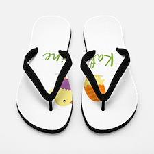 Easter Chick Katharine Flip Flops