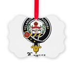 Leavy Clan Crest badge Picture Ornament
