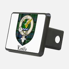Leslie Clan Crest Tartan Hitch Cover