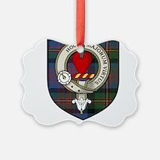 Logan Clan Crest Tartan Ornament