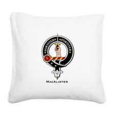 MacAlister.jpg Square Canvas Pillow