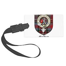 MacBean Clan Crest Tartan Luggage Tag