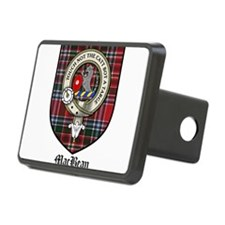 MacBean Clan Crest Tartan Hitch Cover
