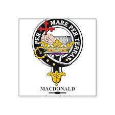 "MacDonald_clan.png Square Sticker 3"" x 3"""
