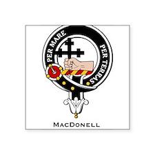 """MacDonell.jpg Square Sticker 3"""" x 3"""""""