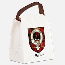 MacIain Clan Crest Tartan Canvas Lunch Bag