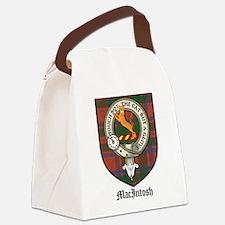 MacIntosh Clan Crest Tartan Canvas Lunch Bag