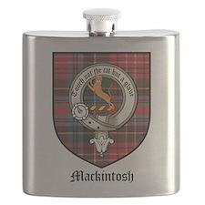 Mackintosh Clan Crest Tartan Flask