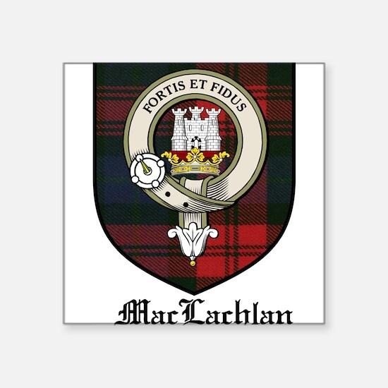 "MacLachlanCBT.jpg Square Sticker 3"" x 3"""
