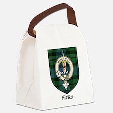 McKee Clan Crest Tartan Canvas Lunch Bag