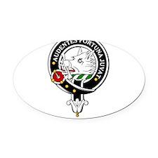 McKinnon.jpg Oval Car Magnet