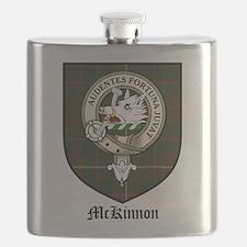 McKinnon Clan Crest Tartan Flask