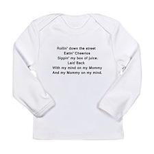 Mind on my Mommy Long Sleeve T-Shirt