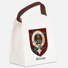 Morrison Clan Crest Tartan Canvas Lunch Bag