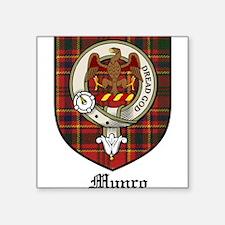 "MunroCBT.jpg Square Sticker 3"" x 3"""