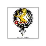 Nicolson.jpg Square Sticker 3