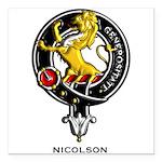 Nicolson.jpg Square Car Magnet 3