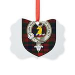 Oliver CLan Crest Tartan Picture Ornament