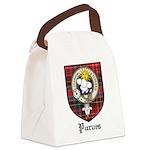 Purves Clan Crest Tartan Canvas Lunch Bag